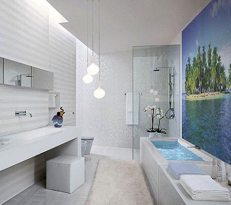 переделку ремонта в ванной комнате