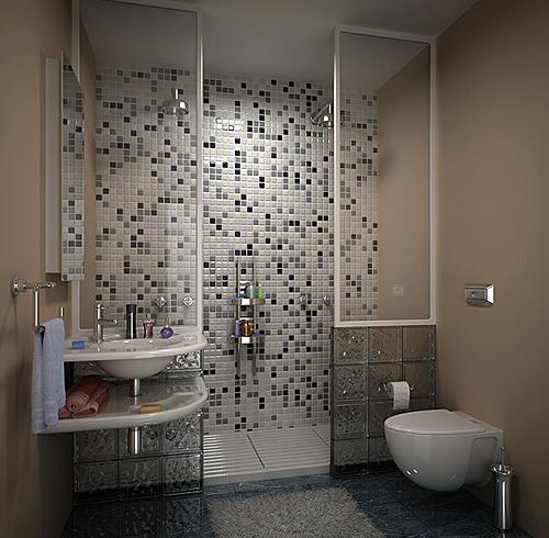 Ванная комната своими руками недорого