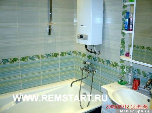 Фото дизайна ванной с газовой колонкой