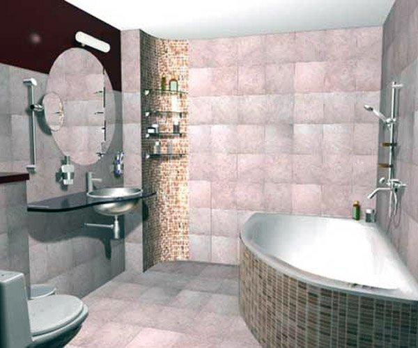 Показать фото ванной комнаты
