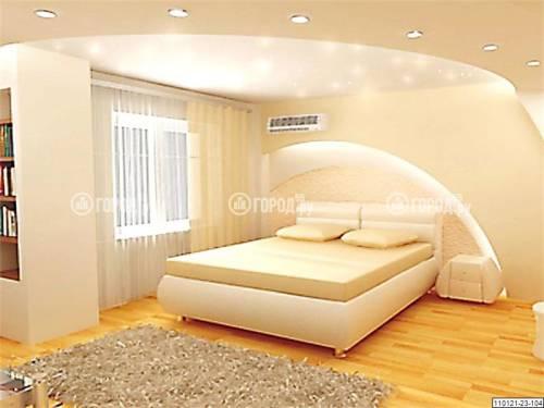 Дизайн интерьера мансарды спальни