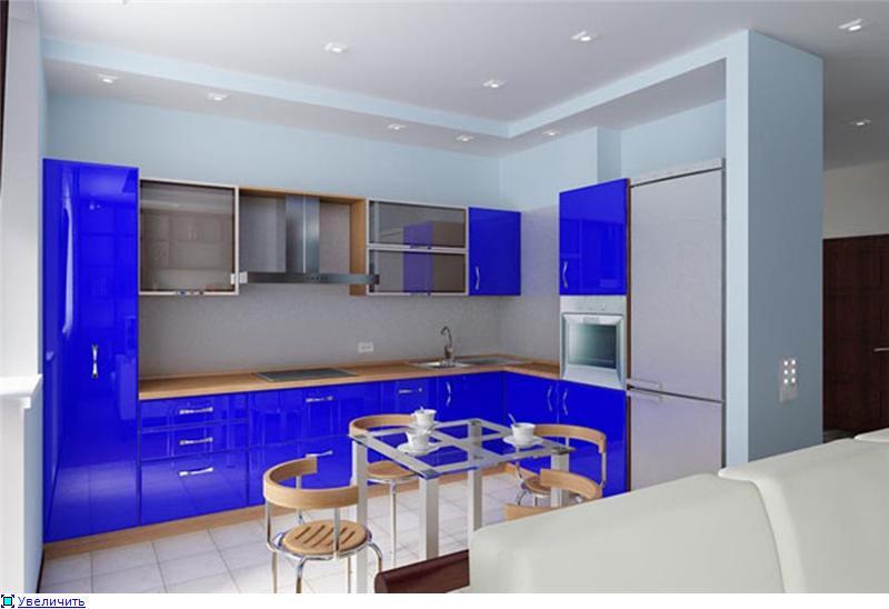 Пример интерьера кухни фото