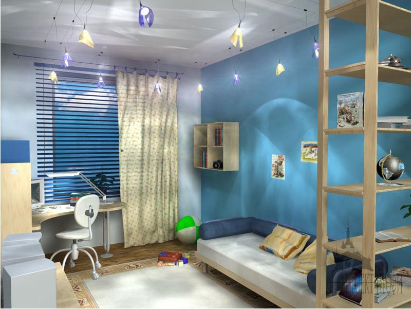 Дизайн детской комнаты в брежневке